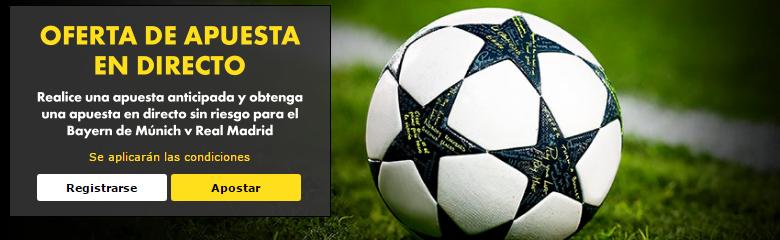 Bet365 apuesta gratisllive Bayern R Madrid
