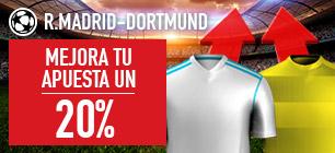 Sportium Champions R. MAdrid - Dortmund