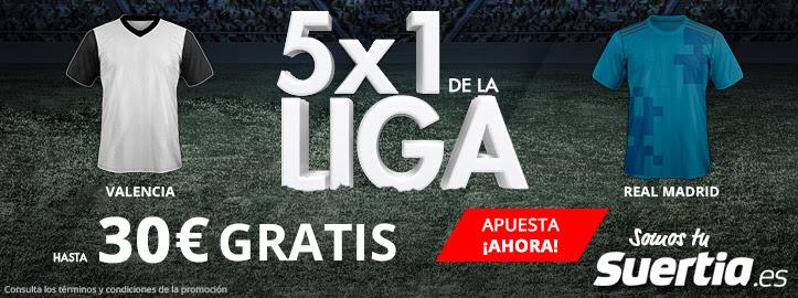 Suertia 5x1 Valencia - R. Madrid