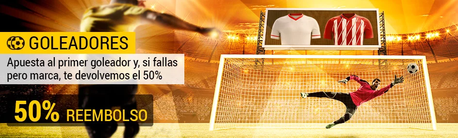 Bwin la Liga Sevilla - Atleti Goleadores 50% reembolso