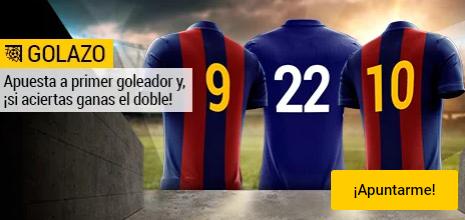 Bwin Champions Barcelona - Chelsea apuesta primer goleador si aciertas ganas el doble