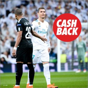 Circus PSG vs Real Madrid Cash Back