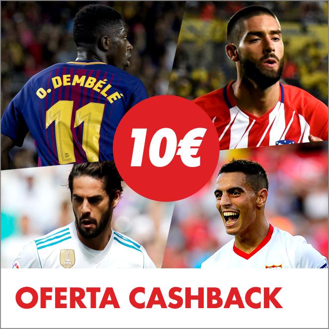 Circus - Cashback Champions League 10€
