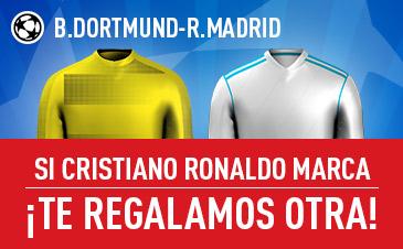 Sportium Dortmund - R. Madrid si marca cristiano te regalamos otra