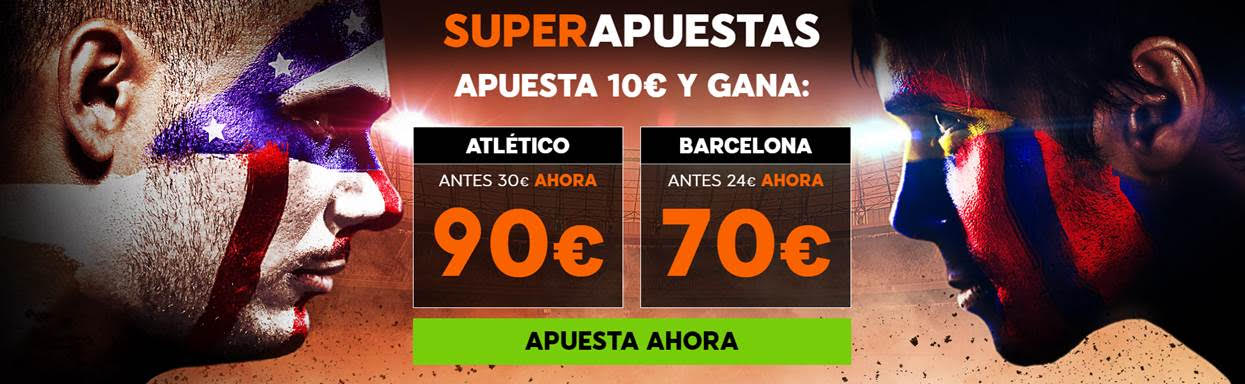 Supercuota 888sport la LIga - Atletico vs Barcelona