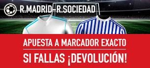 Sportium R. Madrid - R. Sociedad devolución