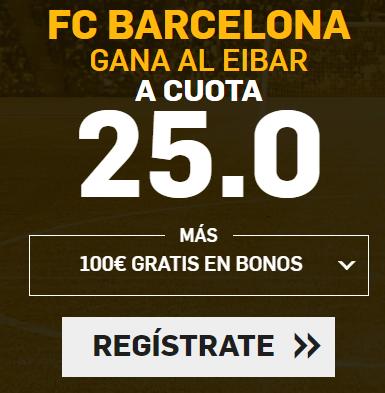 Supercuota Betfair la Liga FC Barcelona - Eibar