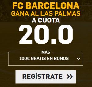 Supercuota Betfair la Liga FC Barcelona - Las Palmas