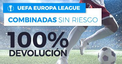 Paston Europa League Combinadas sin riesgo 100% devolución