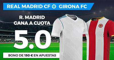 Supercuota Paston la Liga R. Madrid - Girona FC