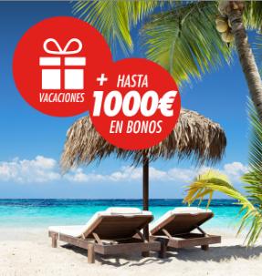 bonos de apuestas Circus Mundial gana unas vacaciones + 1000 en bonos