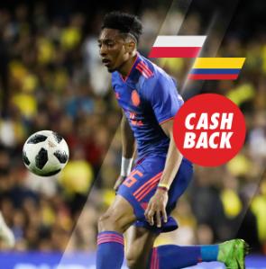 bonos de apuestas Circus Polonia vs Colombia cashback